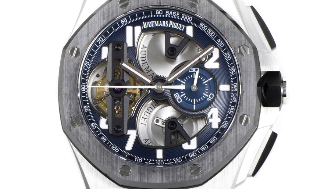 Audemars Piguet Audemars Piguet Royal Oak Offshore Tourbillon Chronograph Watch 26388PO.OO.D027CA.01