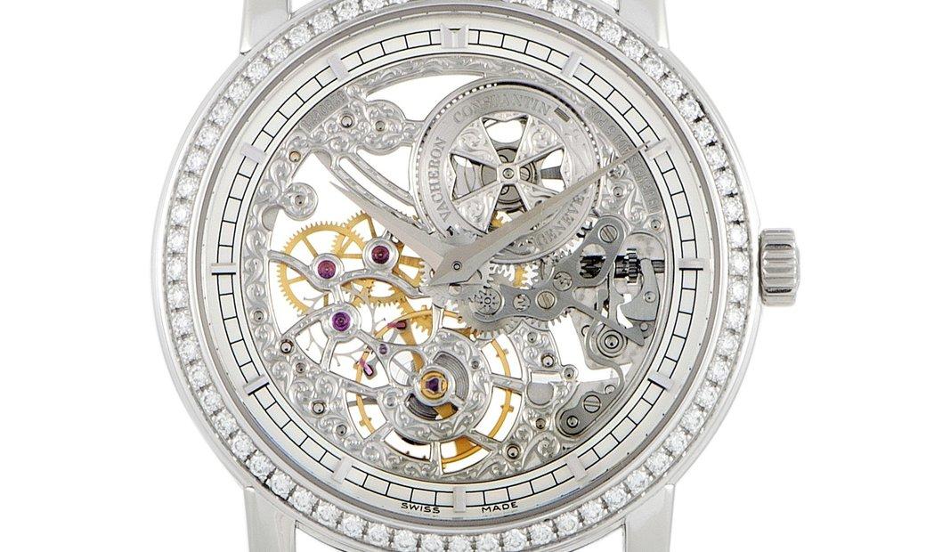 Vacheron Constantin Vacheron Constantin Traditionnelle Manual-Winding Ultra-Thin Skeleton Watch 3355