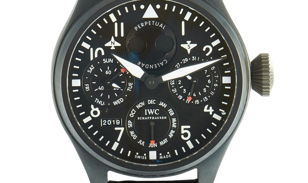 IWC IWC Big Pilot Perpetual Calendar Top Gun Watch 5029