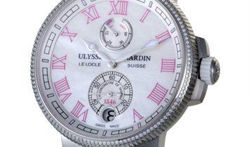 Ulysse Nardin Ulysse Nardin Marine Chronometer Manufacture 43mm 1183-126B/470