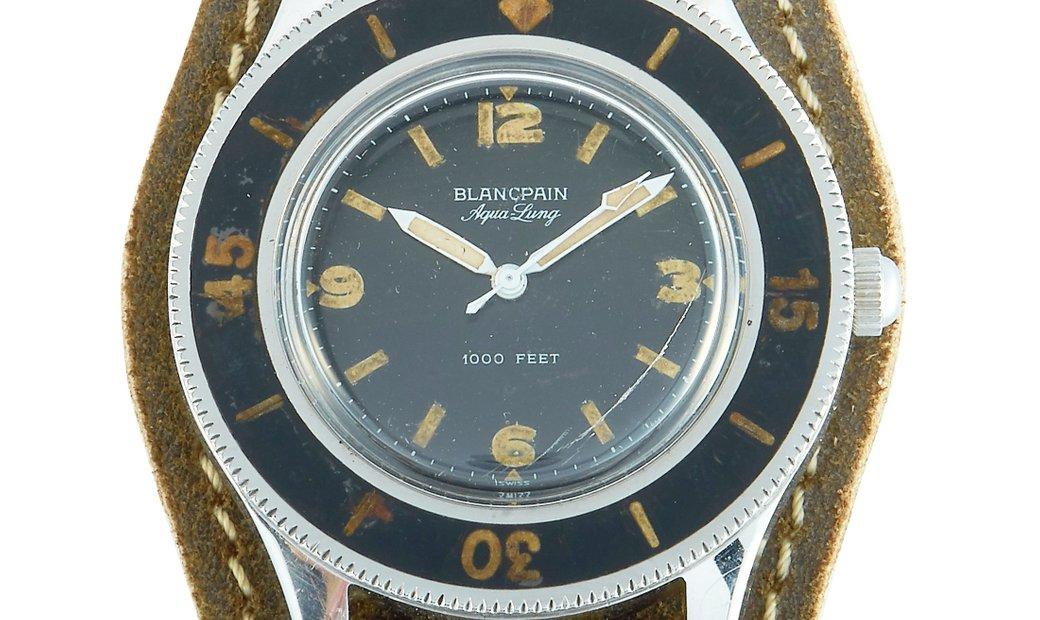 Blancpain Blancpain Vintage Fifty Fathoms Aqua-Lung Diver Watch