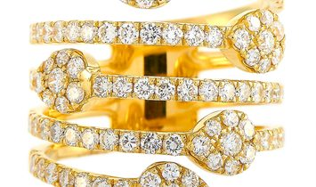 LB Exclusive LB Exclusive 18K Yellow Gold 1.75 ct Diamond Ring