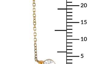 LB Exclusive LB Exclusive 18K Yellow Gold 1.00 ct Diamond Pendant Necklace