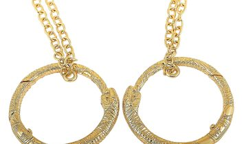 Gucci Gucci Ouroboros 18K Yellow Gold Necklace