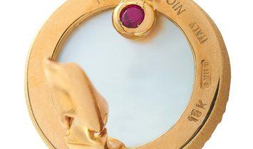Roberto Coin Roberto Coin 18K Rose Gold Diamond and Smoky Quartz Lever Back Earrings