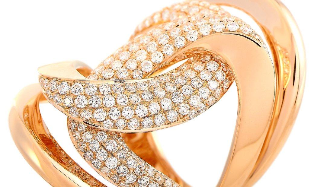 LB Exclusive LB Exclusive 18K Rose Gold 1.50 ct Diamond Ring