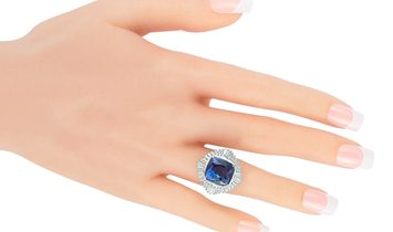 LB Exclusive LB Exclusive Platinum 1.35 ct Diamond and Tanzanite Ring