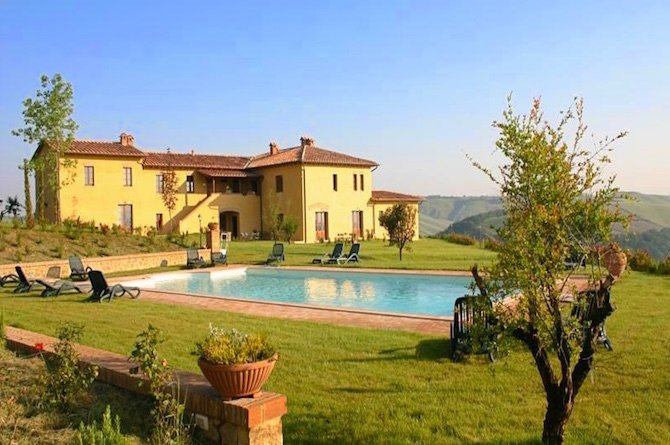 Farm Ranch in Asciano, Tuscany, Italy 1