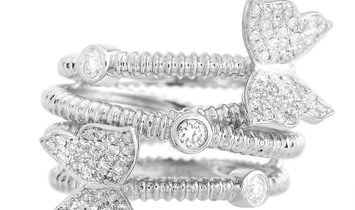 LB Exclusive LB Exclusive 18K White Gold 0.65 ct Diamond Ring