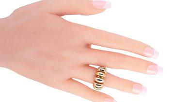 Bvlgari Bvlgari Celtaura 18K Rose, White and Yellow Gold Ring