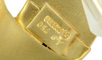 Ilias Lalaounis Ilias Lalaounis 18K Yellow Gold Lion's Head Brooch/Slider