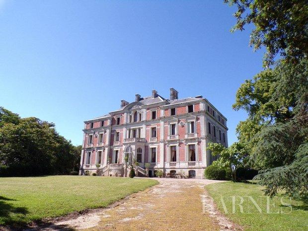 Castle in Ancenis, Pays de la Loire, France 1