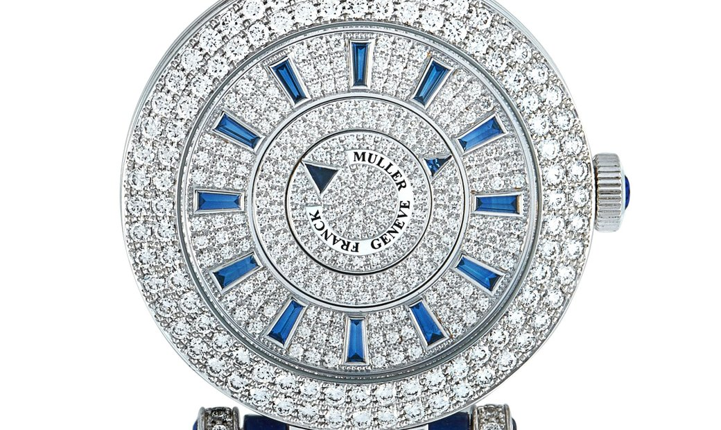 Franck Muller Franck Muller Double Mystery Watch DM 42 D 2R CD-Blue