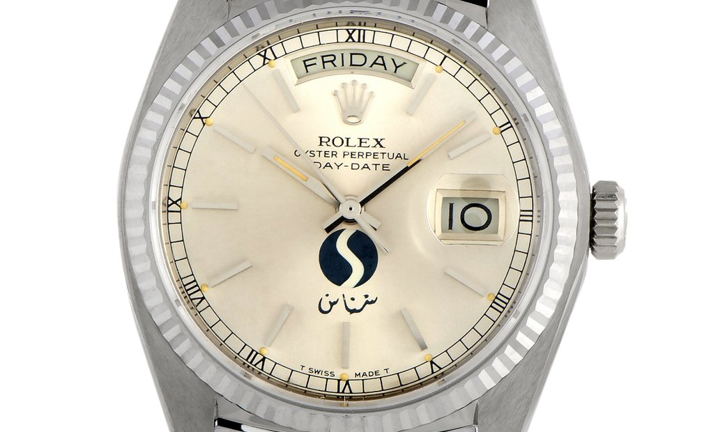 Rolex Rolex Day-Date SNAS Aviation Watch 18039