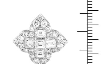 LB Exclusive LB Exclusive 18K White Gold Diamond Pendant