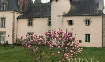 Castle in Vannes, Brittany, France 1
