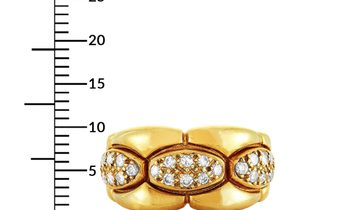 Cartier Cartier 18K Yellow Gold and 0.50 ct Diamond Band Ring