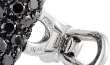 de Grisogono de Grisogono Accessoire 18K White Gold Full White and Black Diamonds Tuxedo Toggle Butt