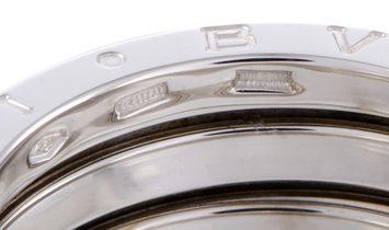 Bvlgari Bvlgari B.Zero1 Womens 18K White Gold 3-Band Ring
