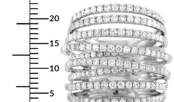 LB Exclusive LB Exclusive 18K White Gold 2.91 ct Diamond Ring