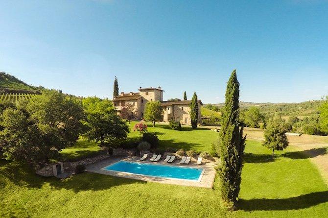 Farm Ranch in Castelnuovo Berardenga, Tuscany, Italy 1 - 10702593