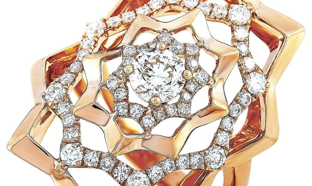 LB Exclusive LB Exclusive 18K Rose Gold 1.15 ct Diamond Ring
