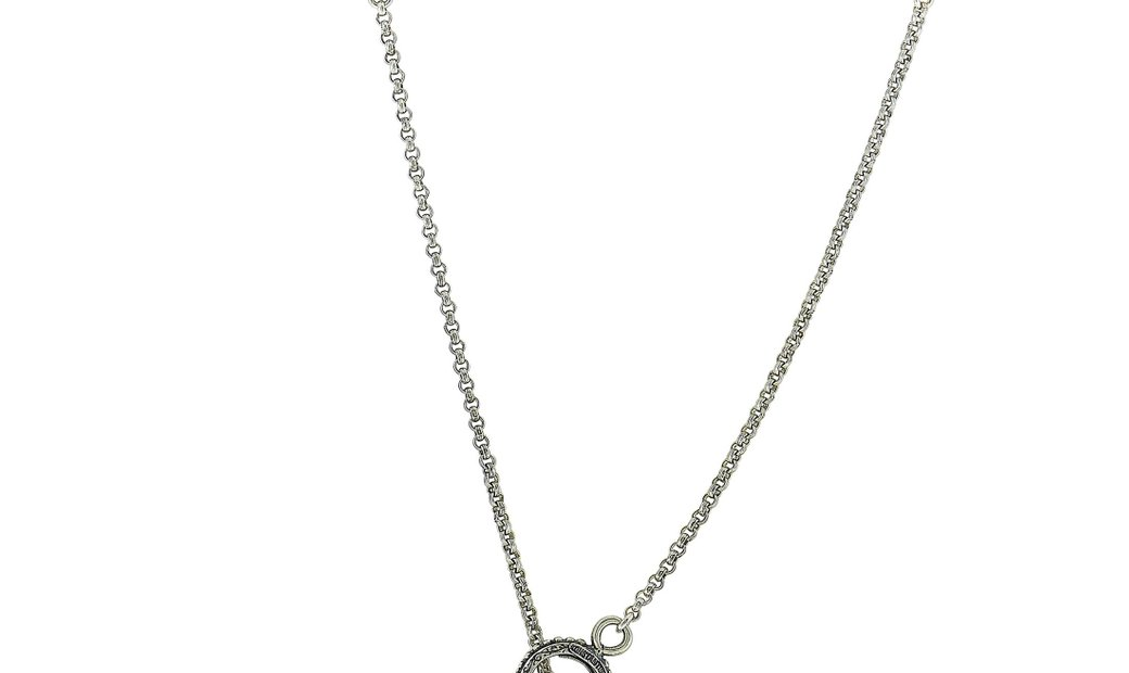 Konstantino Konstantino 18K Yellow Gold and Sterling Silver Necklace