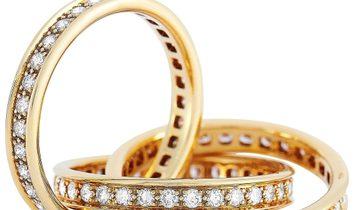 Cartier Cartier Trinity 18K Yellow Gold Diamond Ring