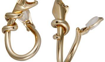 Boucheron Boucheron 18K Yellow Gold Snake Clip-On Earrings