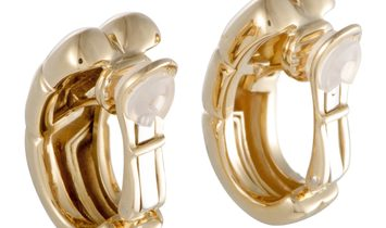 Bvlgari Bvlgari 18K Yellow Gold Clip-on Earrings