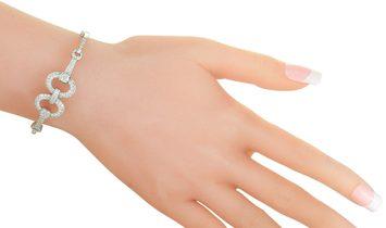 LB Exclusive LB Exclusive 18K White Gold ~1.85ct Diamond Bangle Bracelet