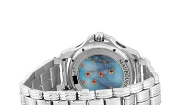 Mauboussin Mauboussin 18K White Gold Tourbillon Watch