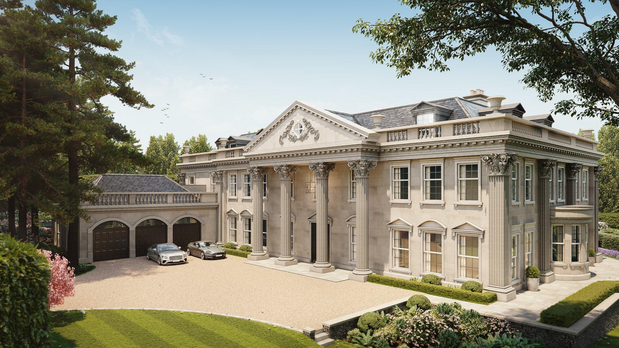 House in Oxshott, England, United Kingdom 1