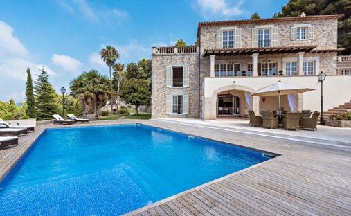 House in Valldemossa, Illes Balears, Spain