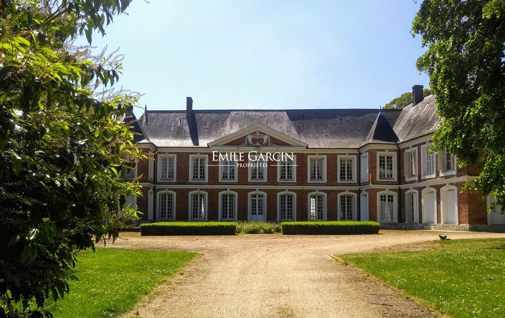 Castle in Lyons-la-Forêt, Normandy, France 1