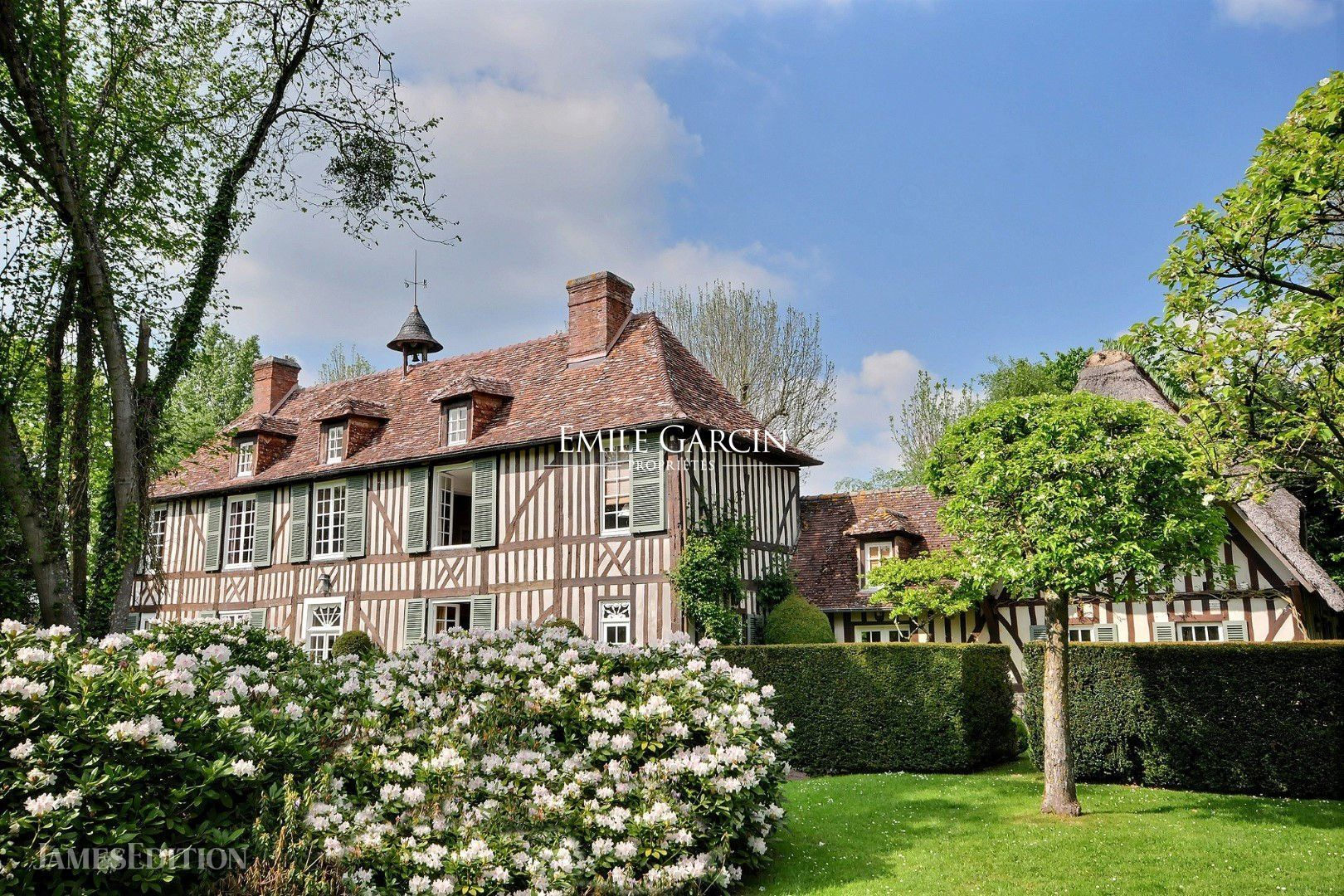 House in Lisieux, Normandy, France 1