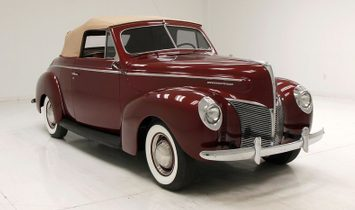 1940 Mercury Eight Convertible