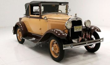 1930 Ford Model A Deluxe Cabriolet