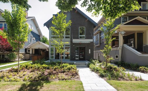 House in Vancouver, British Columbia, Canada