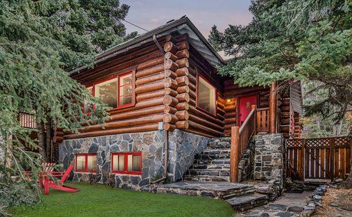House in Banff, Alberta, Canada