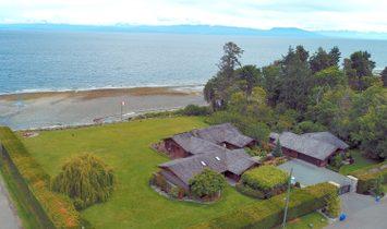 House in Lantzville, British Columbia, Canada