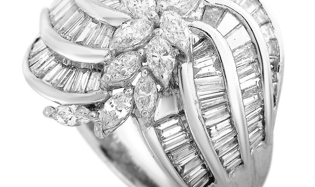 LB Exclusive LB Exclusive Platinum 3.04 ct Diamond Ring