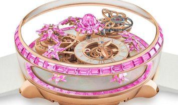 Jacob & Co. 捷克豹 [NEW] Astronomia Fleurs de Jardin All Pink AF321.40.BA.AD.A (Retail:HK$3,168,000)