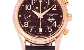 Frederique Constant Healey Chronograph Limited Edition FC-392CH6B4, Arabic Numerals, 20
