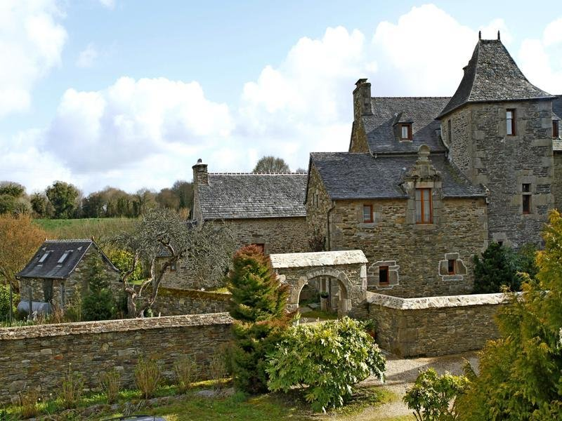 House in Plouigneau, Brittany, France 1