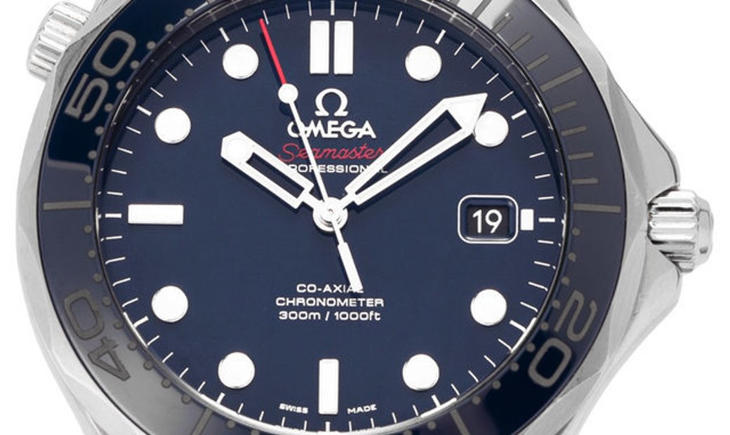 Omega Seamaster Diver 300 M 212.30.41.20.03.001, Baton, 2018, Very Good, Case material