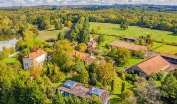 Farm Ranch in Saint-Barthélemy-de-Bussière, Nouvelle-Aquitaine, France 1