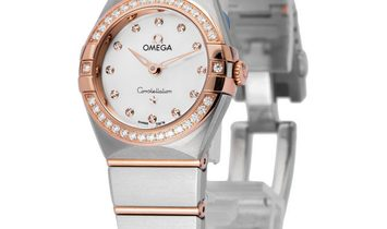 Omega Constellation Quartz 131.25.25.60.55.001, Baton, 2020, Very Good, Case material S