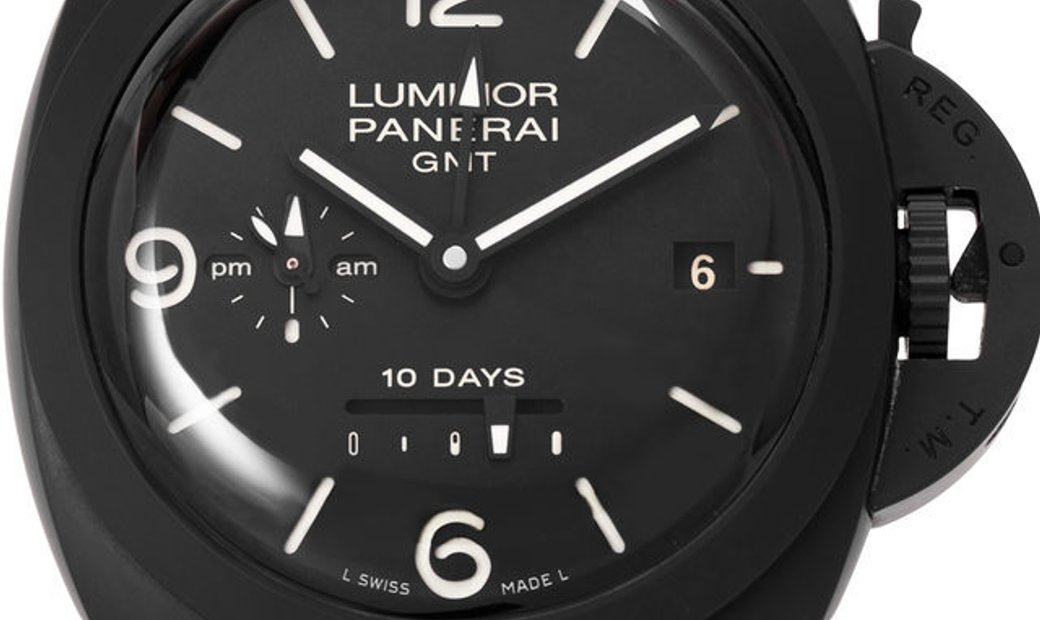 Panerai Luminor 1950 PAM00335, Baton, 2014, Very Good, Case material Ceramic, Bracelet