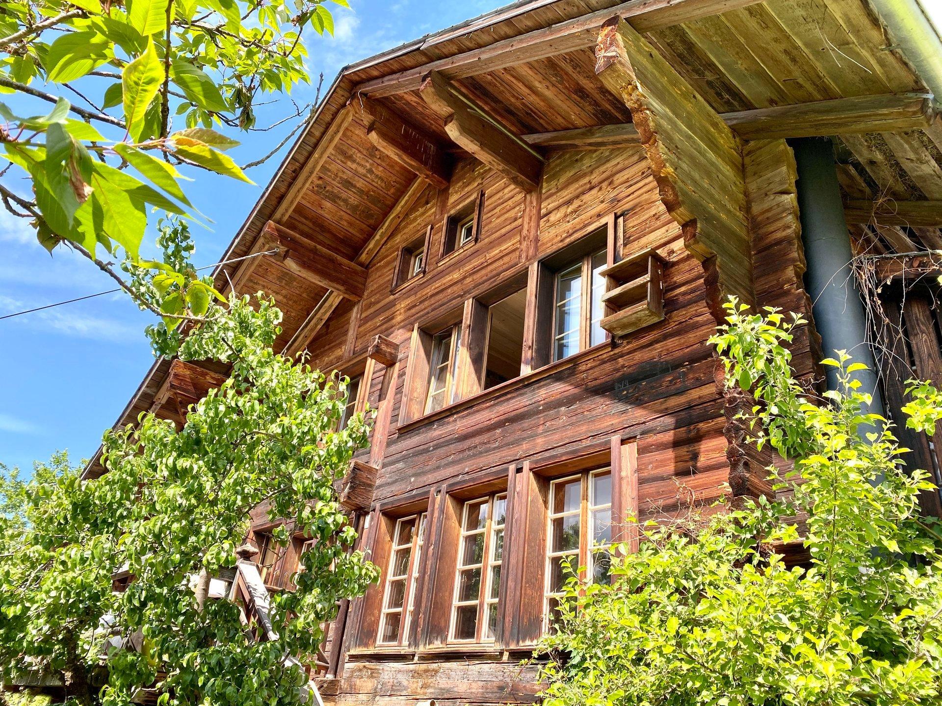 Farm Ranch in Rougemont, Vaud, Switzerland 1